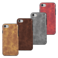 Wholesale Luxury Durable PU Leather Smart Phone Cover Case for iPhone 8