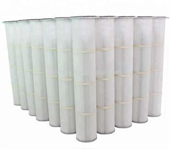 Vaccum Filter Cartridge Polyester Dust Collector