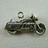 2014 Fashion Motorbike Design Alloy Jewelry Charms For Garment & Bags Decoration