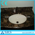 Natual marble bathroom vanities with sinks