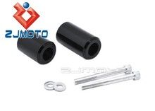 Motorcycle No Cut Frame Sliders Fairing Protectors For 2004-2011 Yamaha FZ6 Fazer / FZ6S