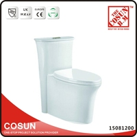 Indian Style Color Bathroom P Trap WC Toilet