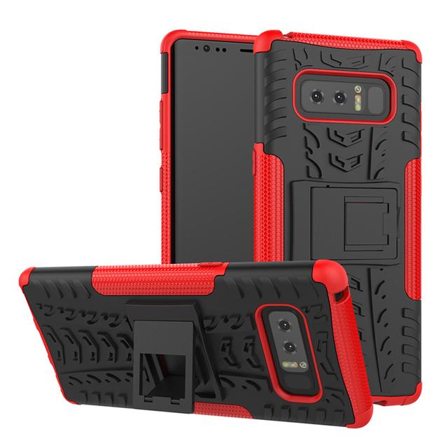 Shockproof kickstand case for Samsung Galaxy Note 8 rugged case for Samsung Note 8