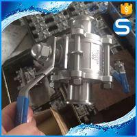 Sanitary Ferrule 1/2 inch 2 piece ball valve