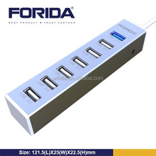 Factory practical design hub, USB 3.0 and 2.0 hub combine together