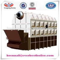 World Famous Brand Horizontal Eco-saving steam boiler with automatic coad feedeing