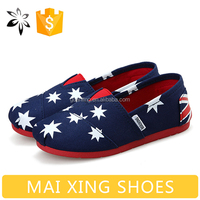 Cheap Wholesale Kids Footwear Latest Children's Shoes Flag Design for Children