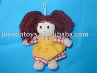 lovely plush doll toy with clothes