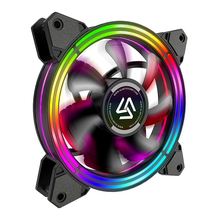 Alseye cooling fan 12v gaming case <strong>rgb</strong> for case computer gaming