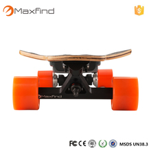 2017 new high quality popular 4 wheel smart balance remote control electric skateboard