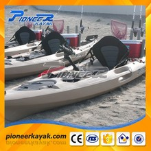 2017 CE Cheap Plastic Kayak Ocean Fishing Kayak with Pedals