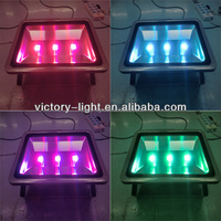 0.95 power factor cob Aluminum Housing 150W RGB DMX LED Flood Light