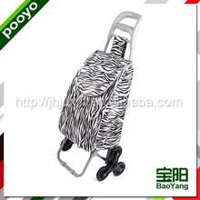 cheap shopping trolley bag foldable plastic shopping trolies