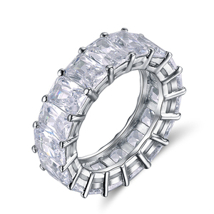 OSDR146 Cubic Zirconia Diamond Eternity Ring For Women Jewelry