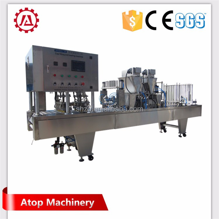 automatic vertical form fill seal machine for packing coffee powder