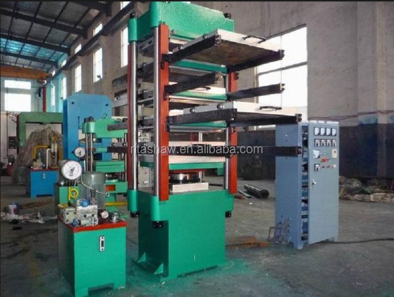 Rubber Tile Hydraulic Press / Rubber Floor Vulcanizing Press