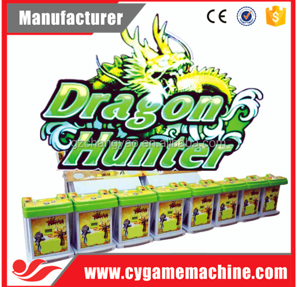 Hot Selling Dragon Hunter Arcade Machine Fish Games For Sale