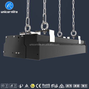 New design suspended ceiling 100W led modular linear high bay lights 13000lm 85-305V