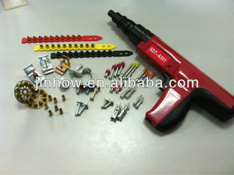 Pistola de clavos pintura en polvo accionadas herramientas - Pistolas de pintura electricas ...