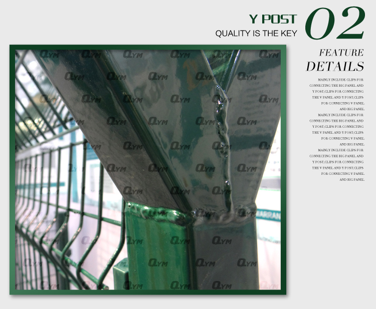 Hot Dipped Galvanized High Security Airport Fencing