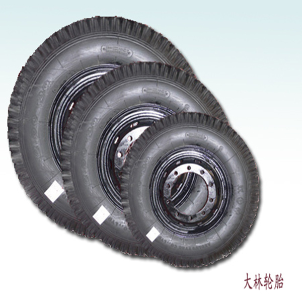 punture free solid tire for forklift