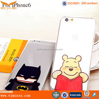 2015 best selling promotion TPU PC phone case for iphone6 and 6plus