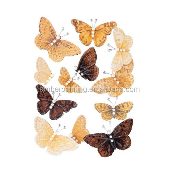 Home decoration 3d butterfly wallsticker for promotion