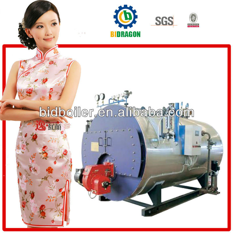 best high quality best price automatic wns thermo oil boiler