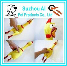 Funny Sound Dog Pet Toy Plastic Squeaky Chicken Dog Toy