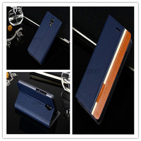 OT6012D Book Style Wallet Phone Case Leather Mobile Phone Cover with Card Holder Stand for Alcatel One Touch Idol Mini 6012