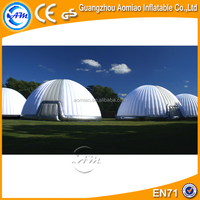 Outdoor large inflatable bubble camping tent, used inflatable tent, party tent for sale