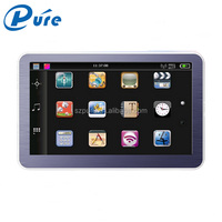 5 inch car gps navigator high quality windows ce 6.0 gps software with muti-function