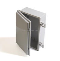 new design waterproof hinged plastic electric box