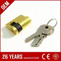 factory price iron euro size digital lock cylinder for wholesales