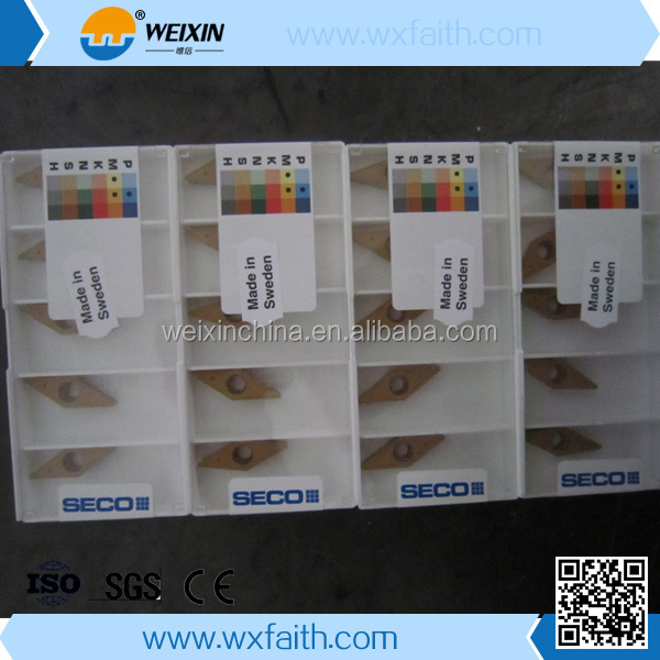 seco cemented carbide insert for metal cutting