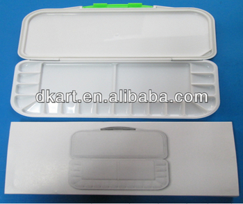 NHigh quality Art Alternatives Paint Tray Palette For Student clear palette mixing blending artist palette