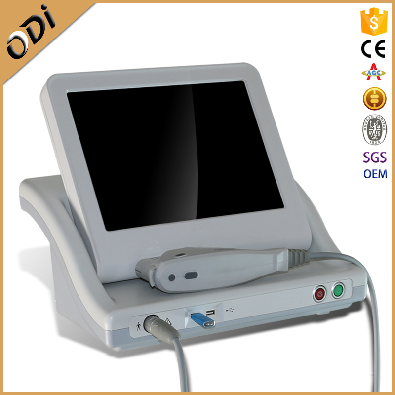 New 2016 hifu anti-aging skin care ultrasound face lift machine
