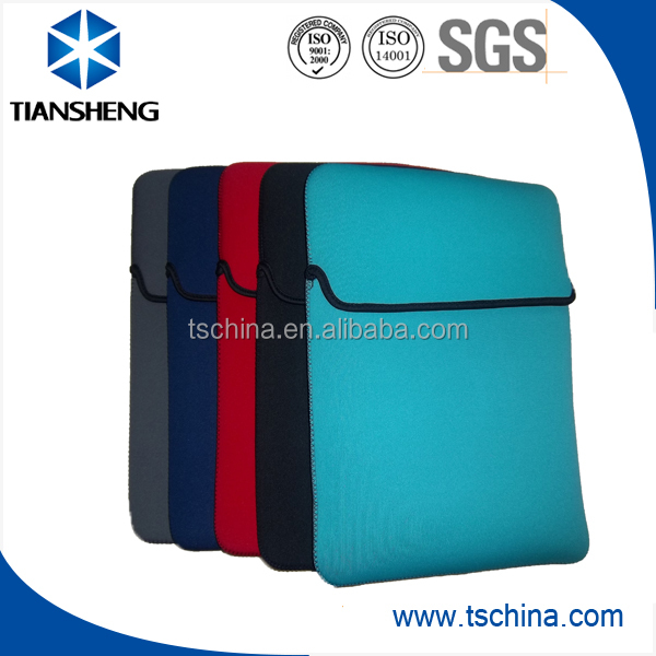 Colorful neoprene tablet sleeve for iPad and iPad mini