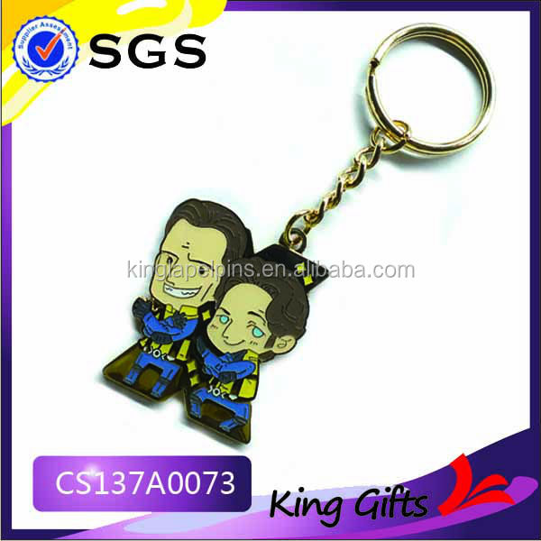 2014 Free Artwork customized cool keychain leading the trend