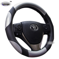 Glow auto car 38cm PVC Steering Wheel Cover