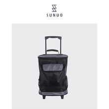 Portable Lightweight Travel Shopping Insulated Trolley Cooler Bag On Wheels