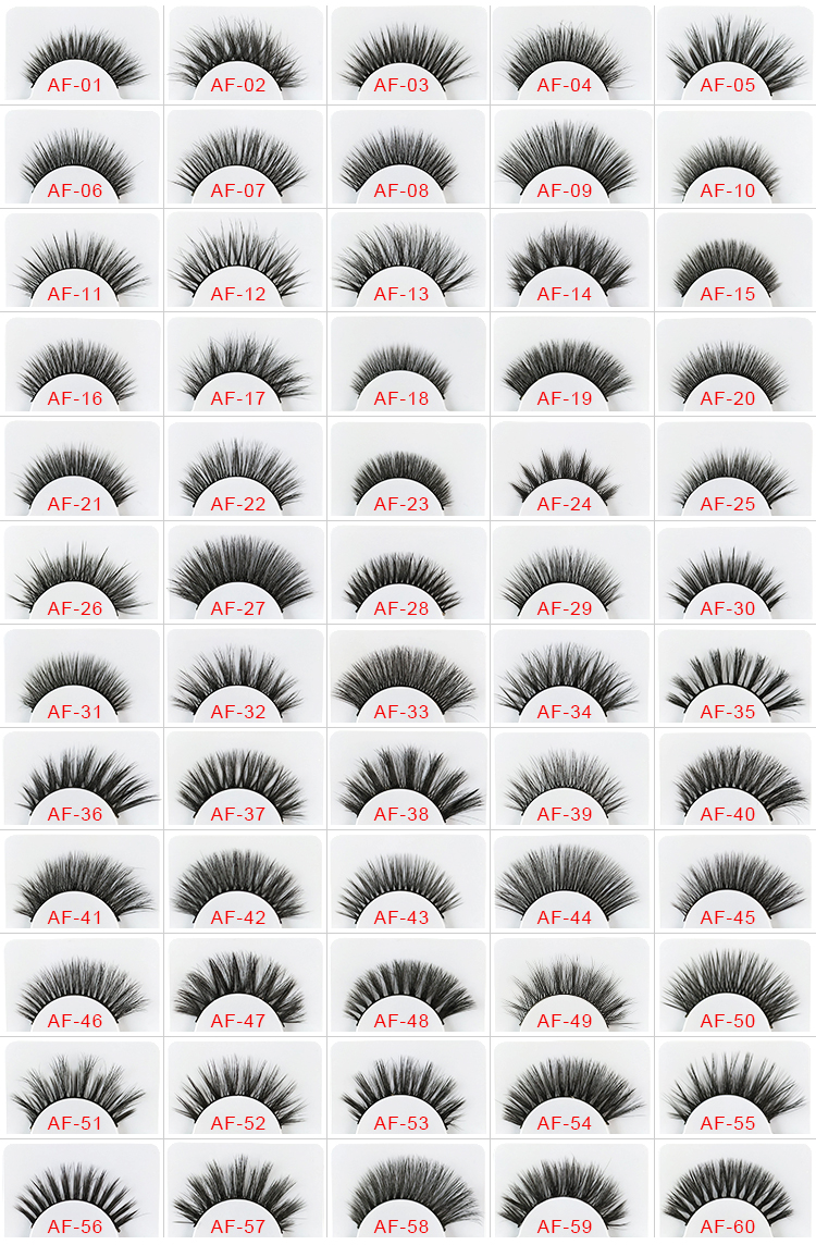 Round plastic eyelash case affordable false lashes 0.05 silk eyelash 3d synthetic eyelashes