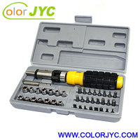 41-piece bit and Socket Wrench set