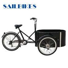 2015 Cargo bike tricycle for passenger with round box