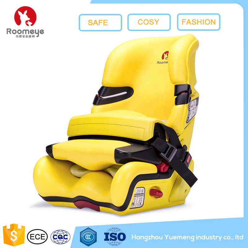 New style safety booster unique baby car seats,child car seat,yellow baby car seat