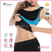 2016 New Coming Hot Neoprene Thermo Vest Body Shaper T- Shirts