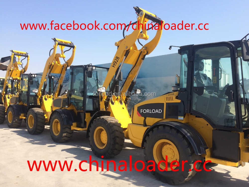 Chinese brand articulated small mini wheel loader with CE certificate for sale