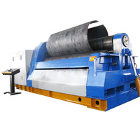 heavy duty 4 roll plate bending machine with pre-bending, W12-40X3000 IN STOCK