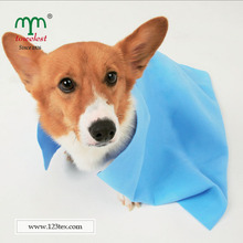new products microfiber fabric absorbent dog grooming/wash cloth