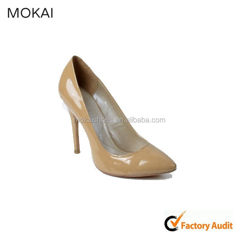 MK016-1-Apricot best ladies shoes buying online